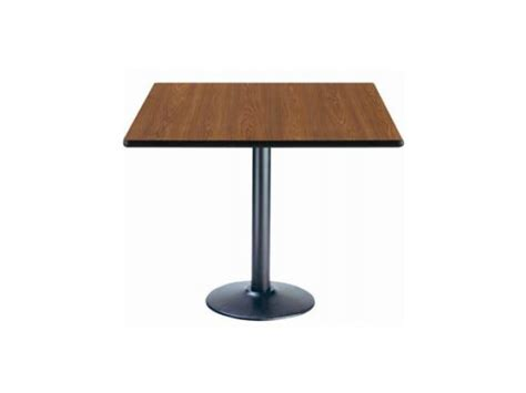 deluxe square cafe table base 36x36 quot cafe tables