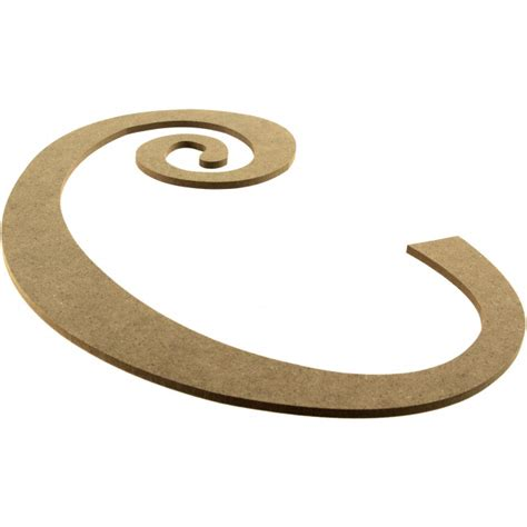 Decorative Letter C by 14 Quot Decorative Wooden Curly Letter C Ab2147