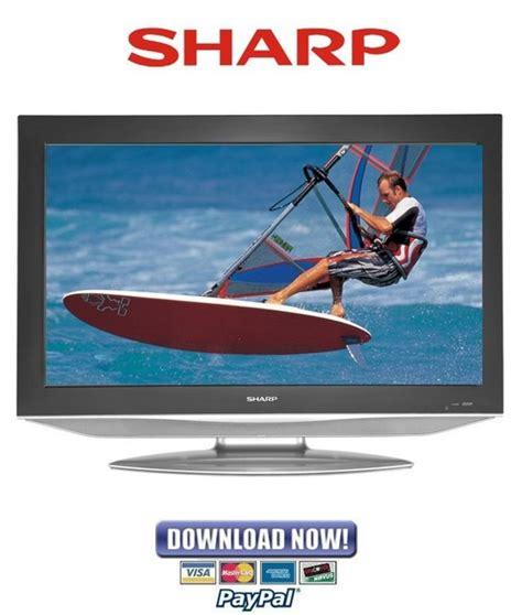 Ic Memory Tv Sharp sharp lc 37sh12u service manual repair guide