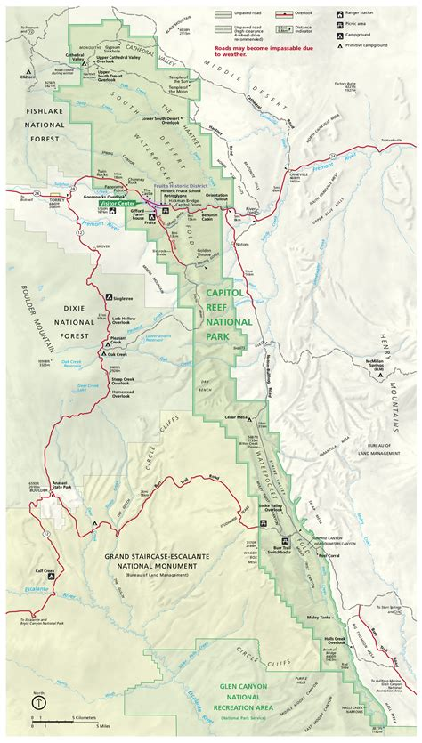 capitol forest map capitol reef maps npmaps just free maps period