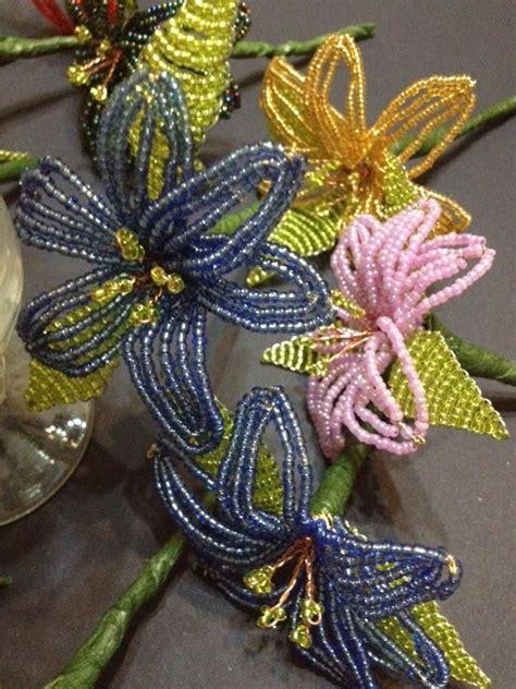 fiori di perline tutorial fiori di perline fiori di perline