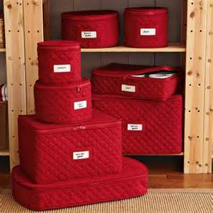Quilted China Storage Set by Quilted China Storage Cases Traditional Dinnerware And