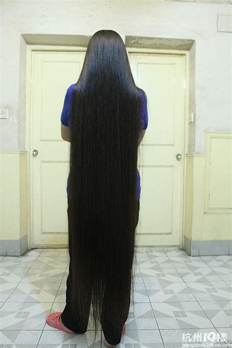 very long floor length hair floor length hair on pinterest very long hair long