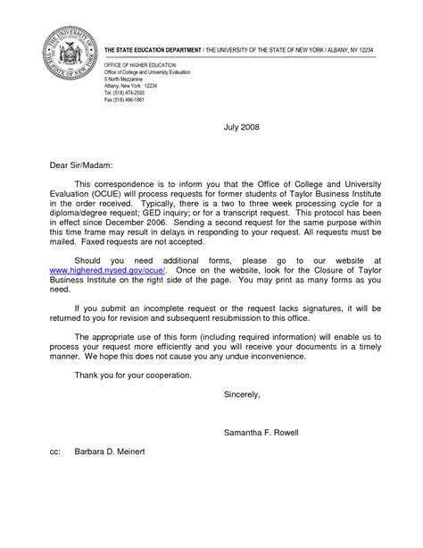 cover letter for employment in education resume cover letter sle for how to write an