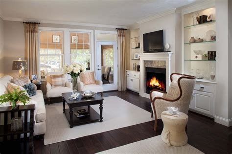 fireplace decorating ideas for your new retirement home on