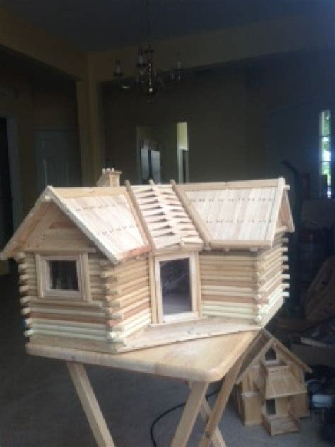 Popsicle Stick Cabin by Pin By Amanda Weeks On Diy