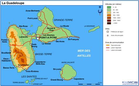 Infos sur : la carte de la guadeloupe   Arts et Voyages