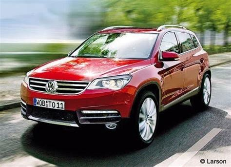 Larson Volkswagen by Volkswagen Touareg 2010 Spyshots Et Preview M 224 J
