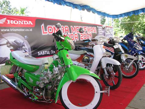 Gambar Modifikasi Sepeda Motor by Gambar Modifikasi Sepeda Motor Honda Grand Terbaru Paling