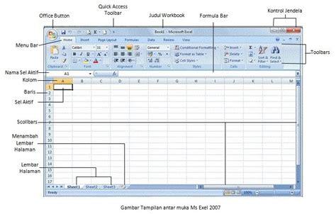 Buku Rahasia Formula San Fungsi Excel Untuk Bisnis belajar komputer mengenal microsoft excel