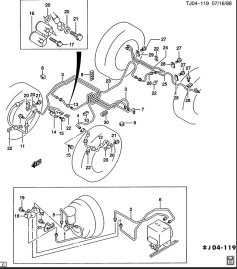 Brake Line Diagram 1998 Chevy S10 Brake Line Diagram 2000 Silverado Images