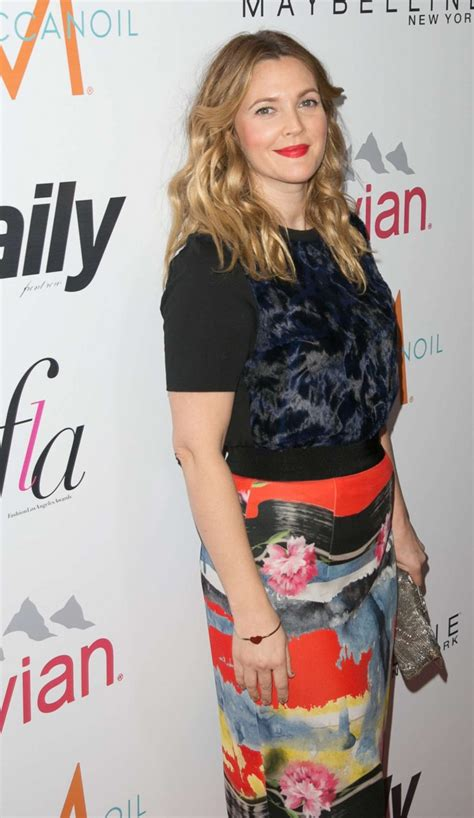 Drew To Front Fashion Caign by Drew Barrymore The Daily Front Row Fashion La Awards 2015