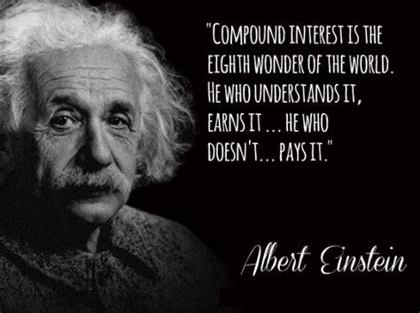 To Rich To Succes Mario Einstain albert einstein compounding interest quote 7th grade