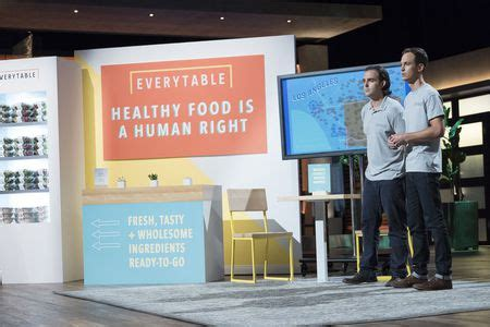 shark tank table every table healthy food with a social mission shark