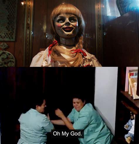 annabelle doll prank annabelle scary prank by warner bros viral marketing