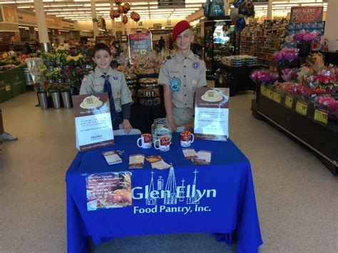 St Marks Food Pantry by St Mark S Boy Scouts Troup 44 Supports Glen Ellyn Food