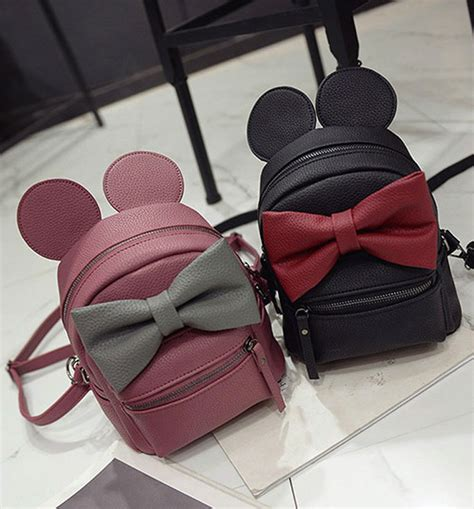 Dompet Mini Mickey by Tas Ransel Wanita Model Mickey Mouse Black