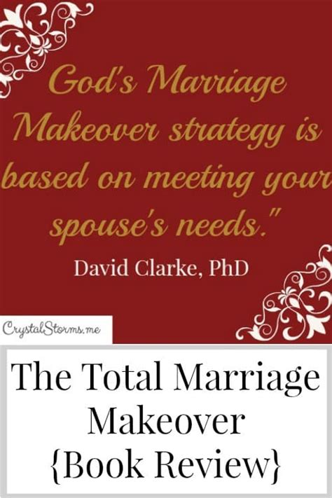 the concept marriage god s way books the total marriage makeover book review storms