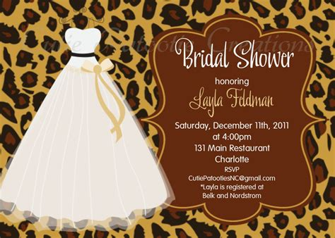 bridal shower invitations bridal shower invitations
