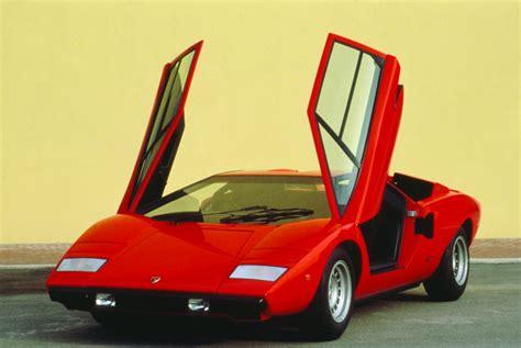 Lamborghini Scissor Doors Sexiest Cars Of The Past Century Business Insider
