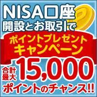 cp nisa 国内株式でも投資信託でも nisa口座開設とお取引でポイントプレゼントキャンペーン nisa ニーサ