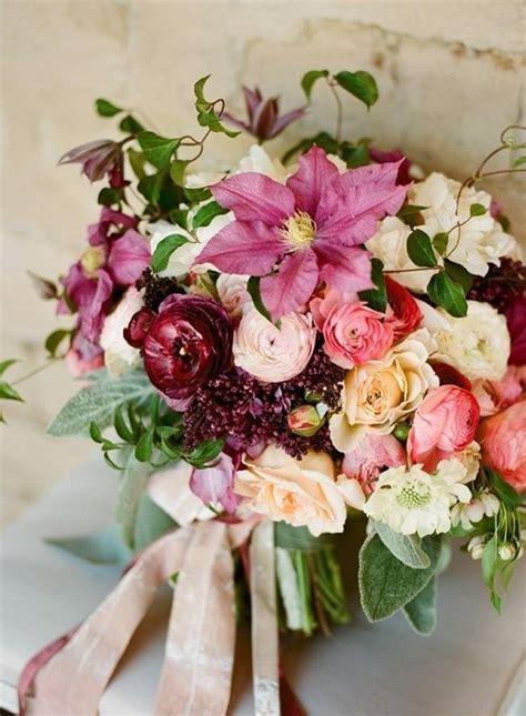 wedding flower inspiration clematis