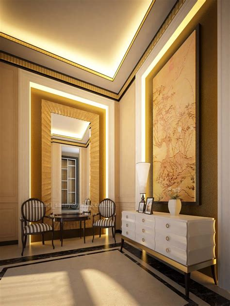 entrance foyer classic interior design