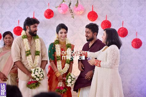 Dhyan Sreenivasan Wedding Stills Photos