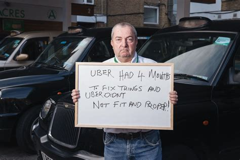 Can I Drive For Uber With A Criminal Record Taxi Drivers Fight Uber S Growth Cnet