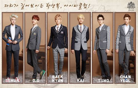 exo k ivy club exo k for ivyclub s autumn 2013 caign