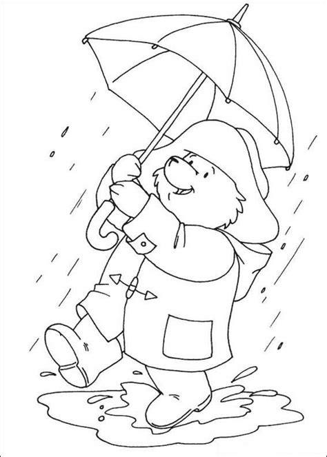 Kleurplaten En Zo 187 Kleurplaat Van Beertje Paddington In Paddington Coloring Pages