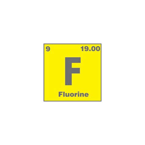 Fluorine Periodic Table by Acs Element Pin Fluorine Acs Store