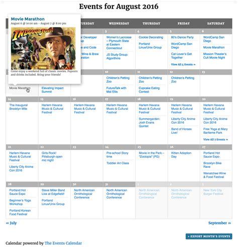 calendar wordpress plugin wordpressorg