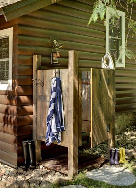 diy outdoor shower with water 25 best ideas about outdoor showers on pool