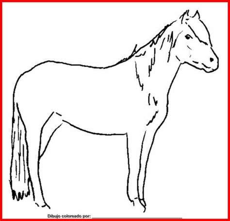imagenes de animales mamiferos para dibujar dibujo de caballos para colorear e imprimir