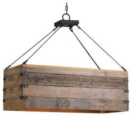 rustic kitchen chandeliers reclaimed wood crate chandelier rustic kitchen island