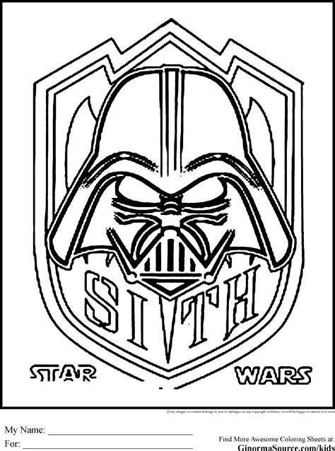 Wars Coloring Pages Sith Happiness Is Coloring