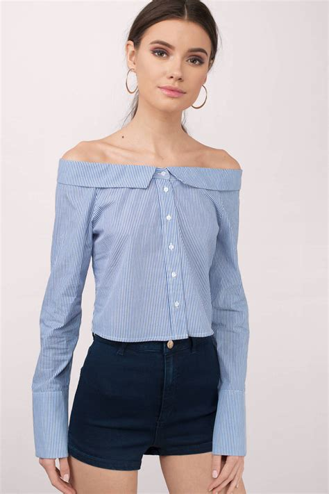 Jesica Mickey Navy shoulder shirts our t shirt