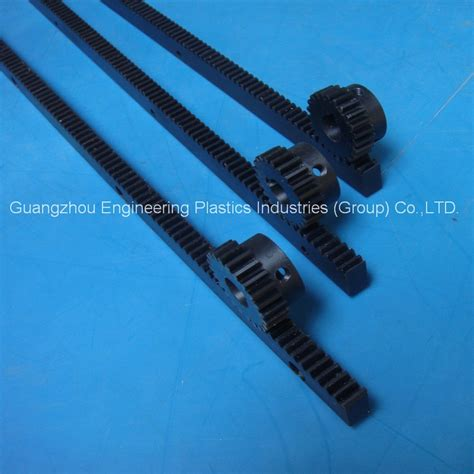 Plastic Rack And Pinion by Manufacture Custom Best Quality Black Nylon66 Plastic Gear