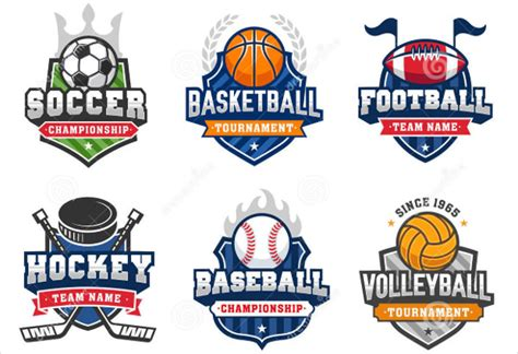 sports logo templates great sports logo template contemporary resume ideas