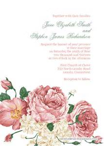 10 free and fabulous printable wedding invitations