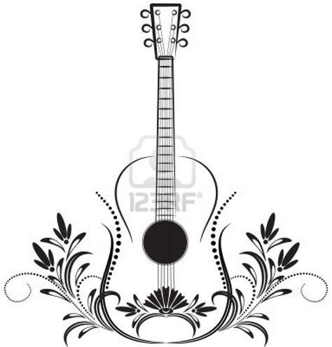 Dessin De Guitare Colorierl