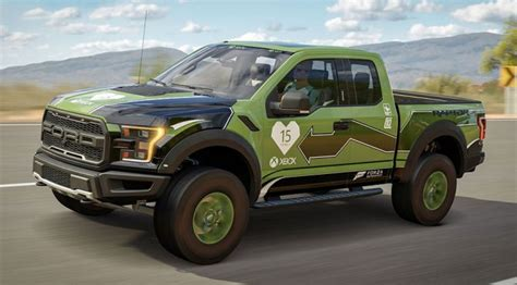 Kitchen Accessories Design forza 2017 ford f 150 raptor gets custom livery to mark