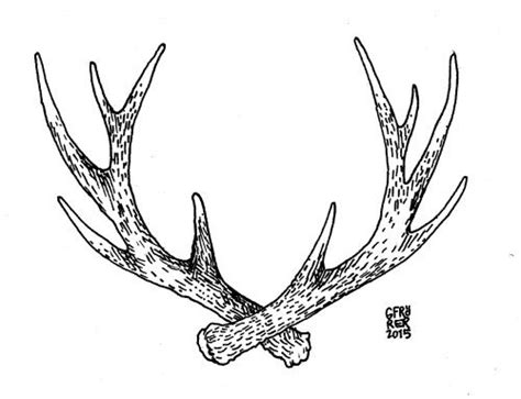 antler tattoo designs best 25 antler tattoos ideas on geometric
