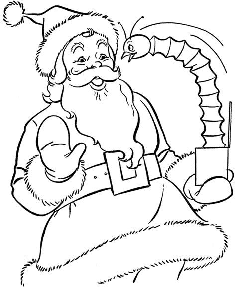 free coloring pictures of santa claus free printable santa claus coloring pages for kids