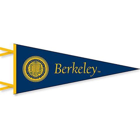 university of california berkeley 6'' x 15'' pennant