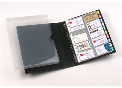 rexel convention card holders template marbig business card file gm stationery au