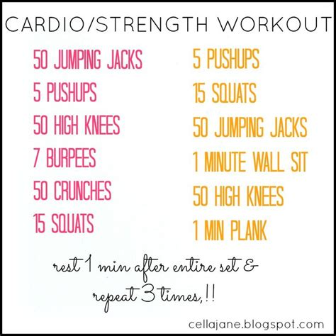 fitness workout ideas picmia