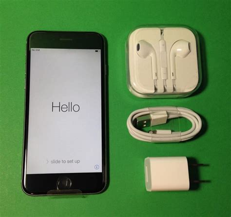 for sale new apple iphone 6 16gb space gray black factory unlock