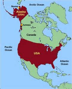 usa map alaska the gold era in alaska s history